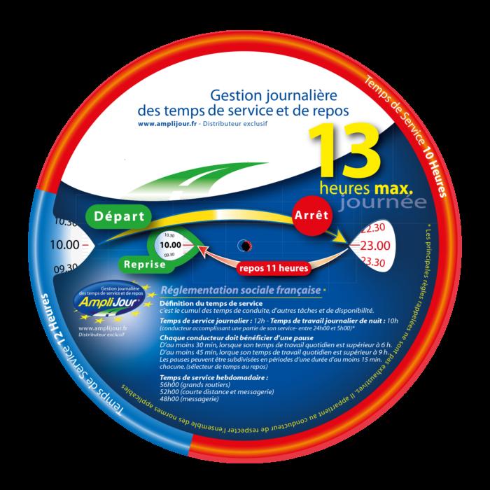 Amplijour - Disque 13h standard
